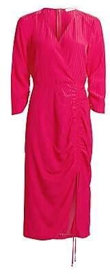 Altuzarra Women's Drawstring Wrap Midi Dress