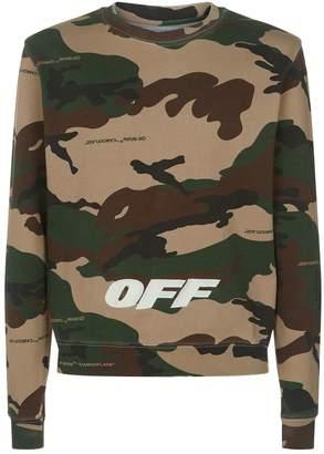 Off-White Off White Camouflage Sweatshirt