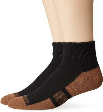 Dr. Scholl's Men's Ankle with Curpron 1 Pack Sock