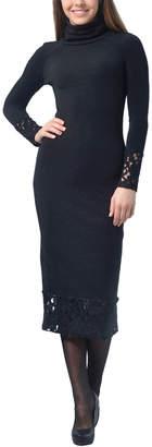 DAY Birger et Mikkelsen Lila Kass Wool-Blend Dress