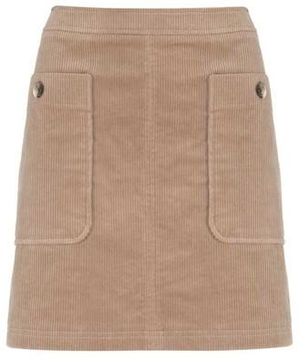 0d30b78b6 Mint Velvet Camel Cord Mini Skirt
