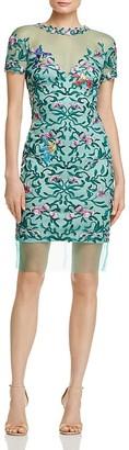 Tadashi Shoji Embroidered Dress $408 thestylecure.com