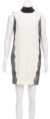 Dolce & Gabbana Lace-Trimmed Mini Dress