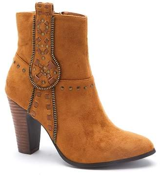 Matisse Deco Faux Suede Studded Bootie