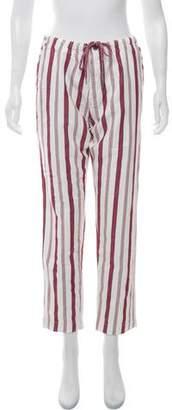 Zadig & Voltaire Paris Raye Mid-Rise Pants