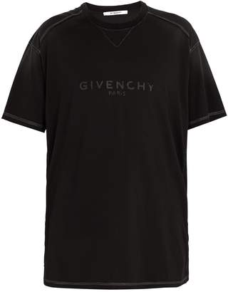 Givenchy Vintage logo-print cotton-jersey T-shirt