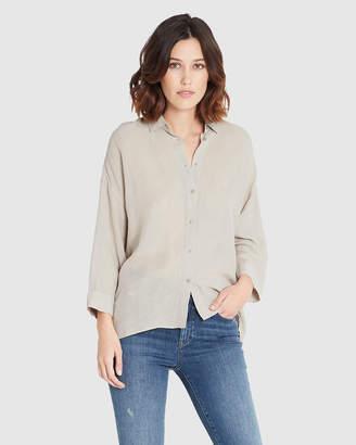 Mavi Jeans 3/4 Sleeve Linen Shirt