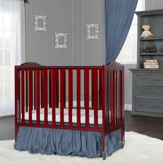 Dream On Me Birch Folding Portable Crib