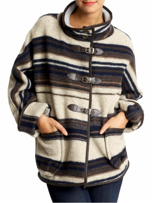Sanctuary Blanket Wool Coat