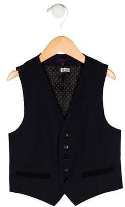Paul Smith Boys' Button-Up Vest