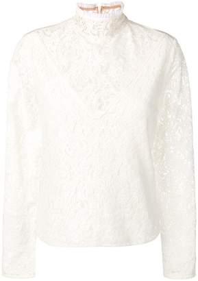 Chloé lace victorian style blouse