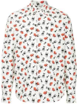 Marni chair print shirt