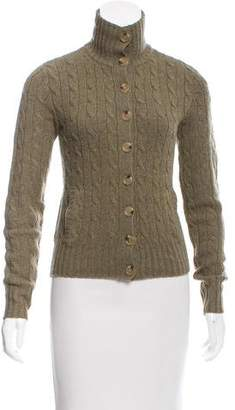 Ralph Lauren Wool Cable Knit Cardigan