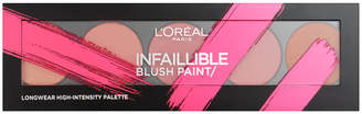 L'Oreal Paris Infallible Paint Blush Palette 10g - 02 Amber