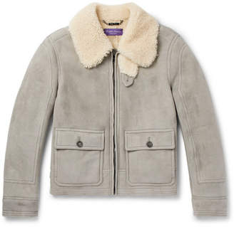 Ralph Lauren Purple Label Beedon Shearling Jacket