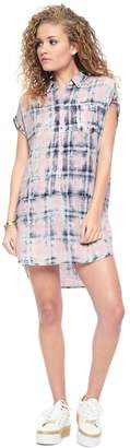 Juicy Couture Indigo Plaid Dress