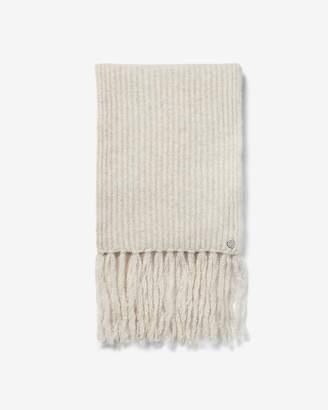 Express Knitted Fringe Oblong Scarf