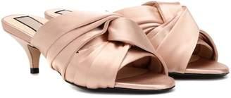 N°21 Satin sandals