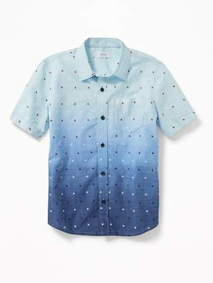 Old Navy Soft-Washed Printed Shirt for Boys