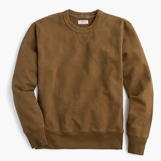 J.Crew Wallace & Barnes heavyweight French terry crewneck