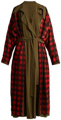 Preen by Thornton Bregazzi Lana reversible twill trench coat