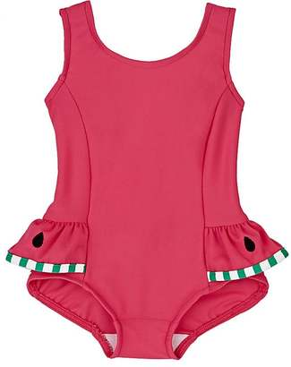 Florence Eiseman Watermelon-Skirt One-Piece Swimsuit $60 thestylecure.com