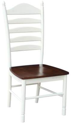 INC International Concepts International Concepts Tall Ladderback Chair, Hand-Rubbed Finish