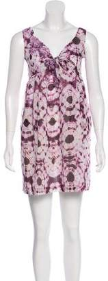 Ermanno Scervino Sleeveless Tie-Dye Dress