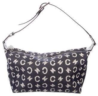 Celine Vintage Macadam Shoulder Bag