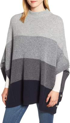 Barbour Heather Wool Blend Cape
