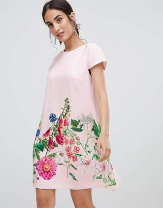Ted Baker Gemma Florence Print Swing Dress