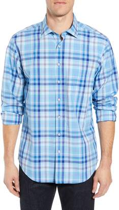 Rodd & Gunn Mackays Crossing Plaid Sport Shirt