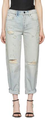 Alexander Wang Blue Slack Jeans