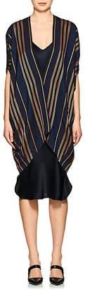 Zero Maria Cornejo Women's Mala Striped Canvas Coat