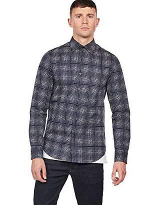 G Star Men's Core Super Slim Shirt Casual,Large