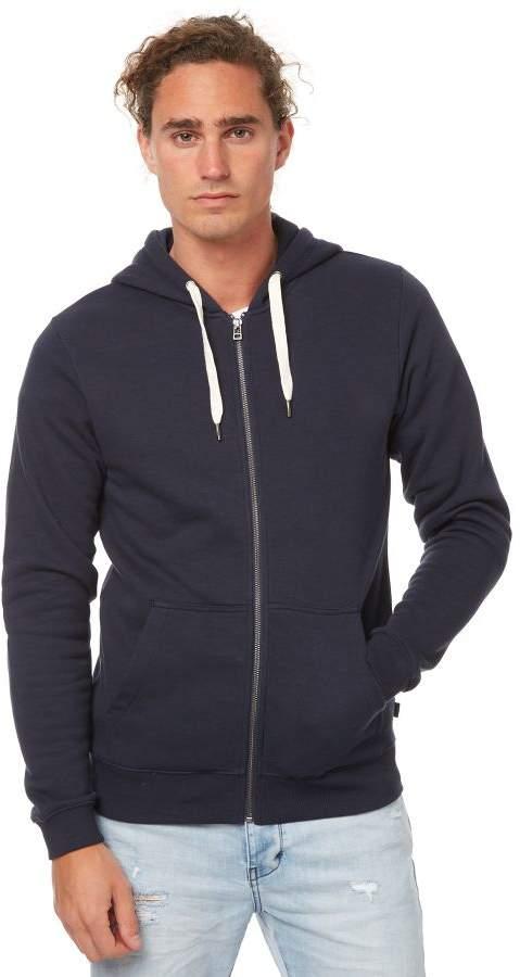 Swell Basic Mens Zip Hood Blue