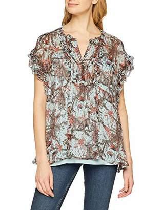 Berenice Women's Sana T-Shirt, Blue Jungle Print, (Size: 40)