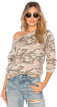 Monrow Vintage Raglan Sweatshirt