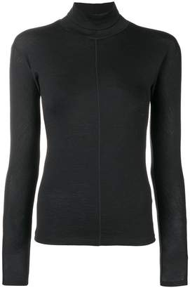 Max Mara turtle-neck fitted sweater