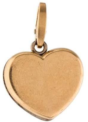 Cartier 18K Heart Charm