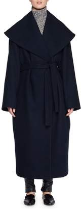 The Row Utan Self-Tie Wool-Blend Coat