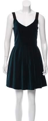 Isabel Marant Sleeveless Velvet Dress