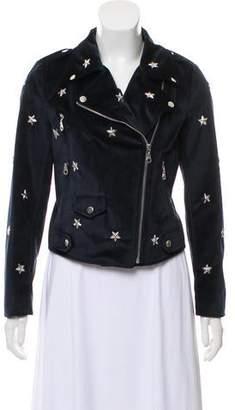Rebecca Minkoff Velvet Embellished Jacket