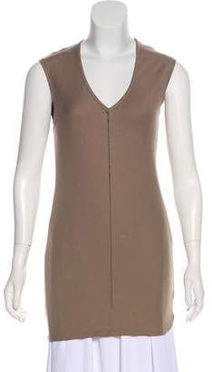 Brunello Cucinelli Monili-Accented Sleeveless Top