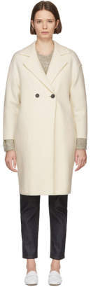 Harris Wharf London Off-White Boxy Duster Coat