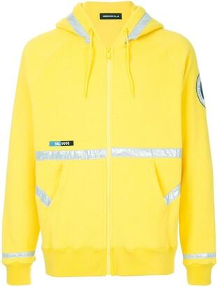Undercover Astronautics Agency patch zip hoodie