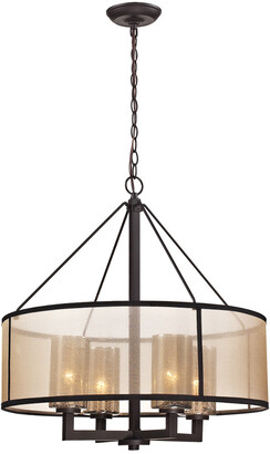 Artistic Home & Lighting Diffusion 4-Light Chandelier