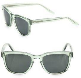 Barton Perreira Coltrane Absint 54MM Square Sunglasses $470 thestylecure.com