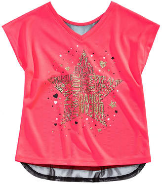 Macy's Ideology Toddler Girls Graphic-Print T-Shirt, Created for
