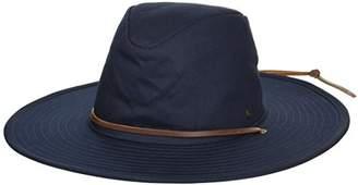 Brixton Men's Ranger Ii Wide Brim Cotton Fedora Hat